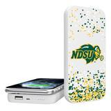 """NDSU Bison Confetti Design Wireless 5000mAh Powerbank"""