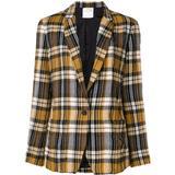 Checked Blazer - Yellow - Forte Forte Jackets