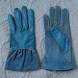 Anthropologie Accessories   Anthropologie Leather Gloves   Color: Blue/Green   Size: Small
