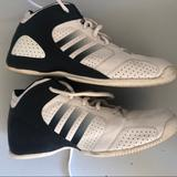 Adidas Shoes | Addiss Boys Basketball Shoes | Color: Blue/Silver | Size: 7.5