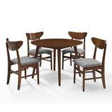 Landon 5Pc Round Dining Set in Mahogany - Crosley KF13044MA