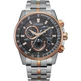 Pcat Two-tone Stainless Steel Bracelet Watch 43mm - A Limited Edition - Metallic - Citizen Watches