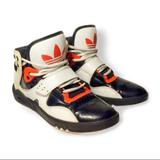 Adidas Shoes   Adidas Retro Hi-Top Basketball Red Sneaker 5.58   Color: Red/White   Size: 5.5
