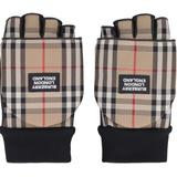 Leather Gloves - Natural - Burberry Gloves