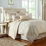 Annalise Comforter Set Gold, King, Gold