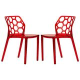 Modern Dynamic Dining Chair (Set of 2) - LeisureMod DC19TR2
