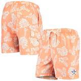 Men's Tommy Bahama Orange Houston Astros Naples Parrot in Paradise Swim Shorts