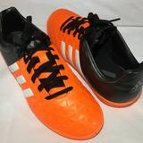 Adidas Shoes | Adidas Ace 15.4 Kids Indoor Soccer Shoes | Color: Black/Orange | Size: 6bb