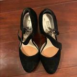 Michael Kors Shoes   Black Suede Michael Kors Platform Mary Janes   Color: Black   Size: 6