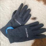 Columbia Accessories   Black Fleece Gloves - Works With Touch Screens!   Color: Black   Size: Medium
