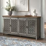 """Kelly Clarkson Home Del 72"""" Wide Sideboard Wood in Brown, Size 37.0 H x 72.0 W x 17.0 D in 
