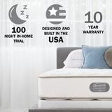 """Destination Home by Hilton Beautyrest Two-Sided 12"""" Plush Innerspring Mattress, Size 12.0 H x 53.0 W x 75.0 D in 