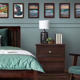 Three Posts™ Baby & Kids Essex 1 Drawer Nightstand in Brown, Size 25.3 H x 23.6 W x 15.5 D in | Wayfair 0062A281F07E48418BCC431E63F9094F