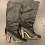 Zara Shoes   Black Knee High Boots   Color: Black   Size: 10