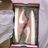 Nike Shoes | (Womens Blazer Low Sd) Nike Pnk Suede Tennis Shoes | Color: Pink/White | Size: 7
