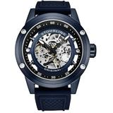 Legacy Automatic Blue Dial Mens Watch - Blue - Stuhrling Original Watches