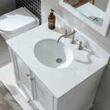 "Three Posts™ Belton 30"" Single Bathroom Vanity Set Wood in White, Size 33.75 H x 30.0 W x 22.0 D in   Wayfair 3DF0E3EF01614A4B8BE74DA790D213DB"