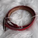 Nine West Accessories   Belt   Color: Red   Size: M(Edium)