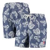 Men's Tommy Bahama Navy Boston Red Sox Naples Parrot in Paradise Swim Shorts