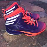 Adidas Shoes | Adidas Basketball Shoe Size 4.5 No Box Great Cond | Color: Purple | Size: 4.5bb
