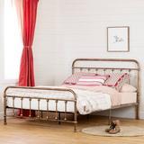 Prairie South Shore Platform Bed Metal, Size 45.25 H x 64.5 W x 84.0 D in | Wayfair 13068