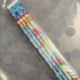 Lilly Pulitzer Office   8 Pack Of Lilly Pulitzer Pencils Nib Pre Sharpened   Color: Blue/Pink   Size: Os