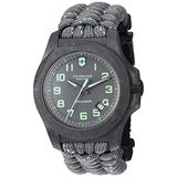 Victorinox Men's I.N.O.X Carbon Swiss Quartz Sport Watch with Nylon Strap, Blue, 25.2 (Model: 241860)