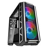 Cooler Master MasterCase H500P Mesh ARGB - PC Case with Dual 200mm Fans for High-Volume Airflow, Builder-Focused Chassis Panels, Liquid Cooling Ready
