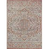 """Rugs America Area Rug, 5'0""""x7'6"""", Aged Leather"""