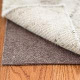 """Dash and Albert Rugs Floor-Lock Solid Dual Surface Non-Slip Cushioning Rug Pad (0.25"""") Rubber in Gray, Size 108.0 H x 72.0 W x 0.25 D in   Wayfair"""