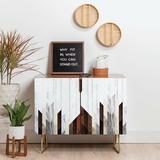 East Urban Home 2 Door Accent Cabinet Wood in Brown, Size 30.0 H x 17.5 D in | Wayfair BE91B7C8F08F440D84281037A6DCDE40