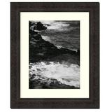Frames By Mail Traditional Frame in Antique Mahogany Wood in Brown, Size 18.0 H x 15.0 W x 1.25 D in | Wayfair 772-RM-1114
