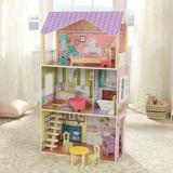 KidKraft Poppy Dollhouse Manufactured Wood in Brown, Size 44.1 H x 13.1 W x 25.2 D in   Wayfair 65959