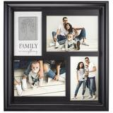 Malden Collage Picture Frame Plastic in Black, Size 14.0 H x 14.0 W x 1.5 D in | Wayfair 9175-30