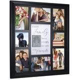 Malden Tree Collage Picture Frame Plastic in Black, Size 19.0 H x 16.5 W x 1.5 D in | Wayfair 9175-80