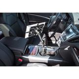 Symple Stuff Carbon Fiber Car iPad Mounting System in Black, Size 0.39 D in | Wayfair MI-7321