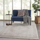 Bungalow Rose Vanaheim Oriental Beige Area Rug Polyester in Brown/White, Size 92.0 H x 63.0 W x 0.25 D in | Wayfair