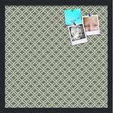 ArtToFrames Custom Printed Pin Cork Wall Mounted Bulletin Board Vinyl/Wood in Black/Brown/Green, Size 16.0 W x 0.75 D in | Wayfair J3926LS229