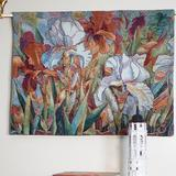 Red Barrel Studio® Cotton Flower Wall Hanging Cotton in Brown, Size 20.0 H x 27.0 W in   Wayfair 72E2E360E6C3405E9DF55DF138C99C9A