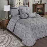 Camelot Grande Bedspread Gray, King, Gray