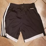 Adidas Bottoms | Adidas Youth Soccer Shorts | Color: Black/White | Size: Youth S