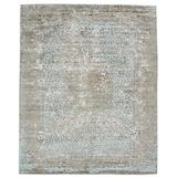 Solo Rugs Contemporary Hand Loomed Area Rug, 9x12, Brown