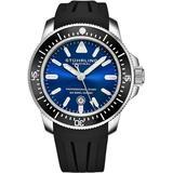 Aquadiver Quartz Blue Dial Mens Watch - Blue - Stuhrling Original Watches