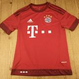Adidas Shirts & Tops   Bayern Munich Home Soccer Jersey Kids Youth Large   Color: Red   Size: Lb