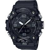 Analog-digital Mudmaster Black Resin Strap Watch 53mm - Black - G-Shock Watches