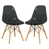 Dover Molded Side Chair (Set of 2) - LeisureMod EP19TBL2