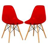 Dover Molded Side Chair (Set of 2) - LeisureMod EP19TR2