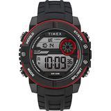 Timex Men's DGTL Sphere 45 mm Chrono Silicone Strap Watch TW5M34800