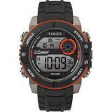 Timex Men's DGTL Sphere 45 mm Chrono Silicone Strap Watch TW5M34700
