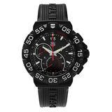 Tag Heuer Mens CAH1012.FT6026 'Formula 1' Black Dial Chronograph Black Rubber Strap Watch